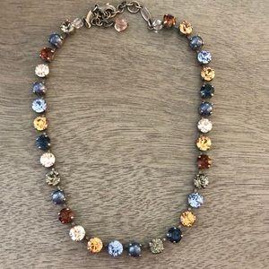 Sabika Multi Colored Stone Necklace